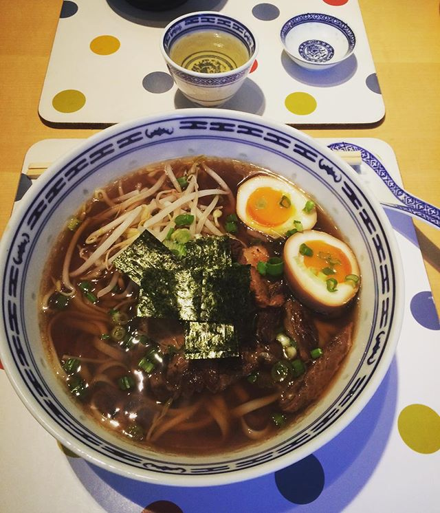 Homemade #shoyu #ramen with #porkbelly thank you for the lesson @yukiskitchen